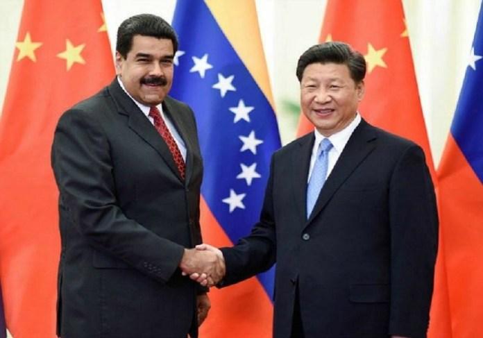 Maduro y Xi en uno de sus encuentros bilaterales