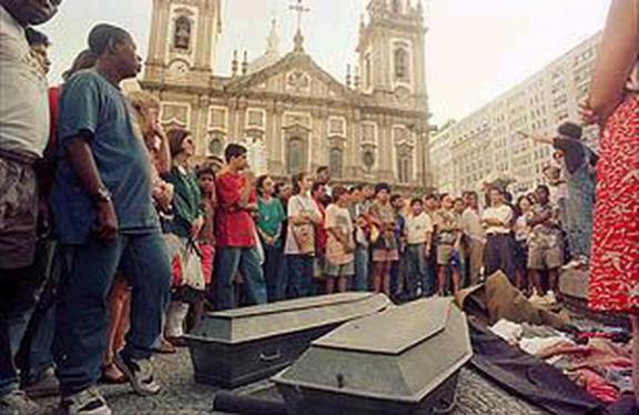 La noche en que la policía militar brasileña masacró a los niños de la Candelaria