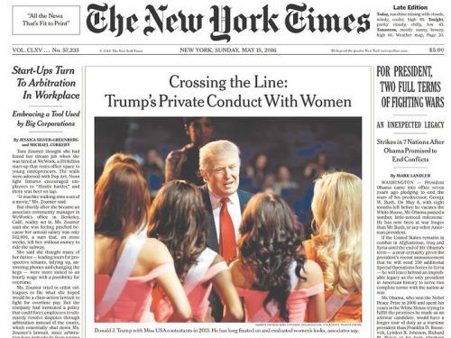 La saga de Trump contra un denunciante anónimo