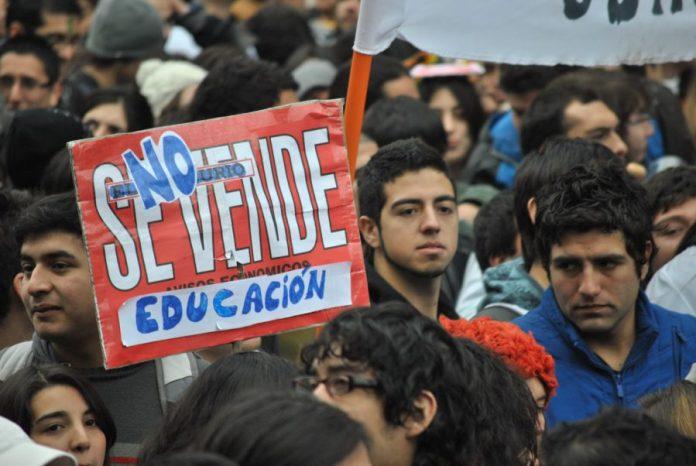 paro general de estudiantes en Colombia