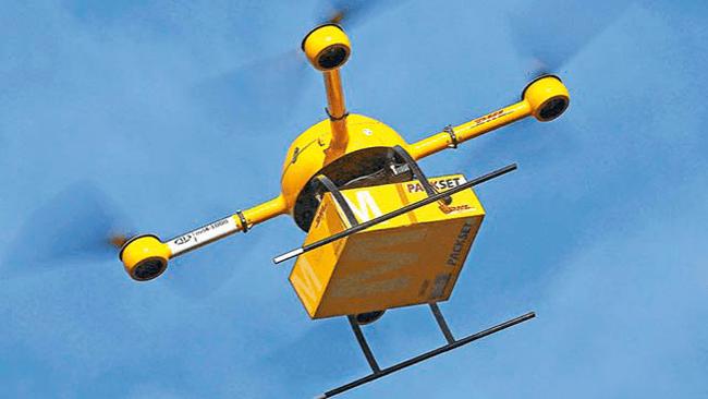 Drones correo