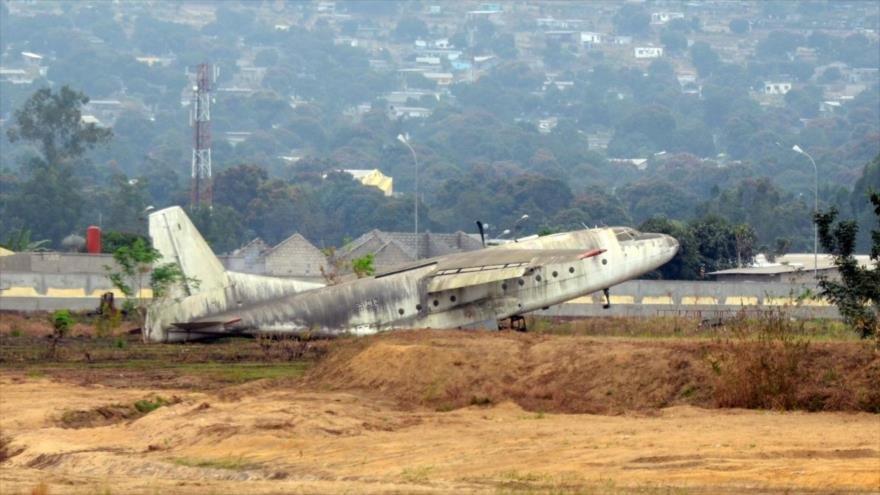 Se estrella avión de la comisión electoral del Congo