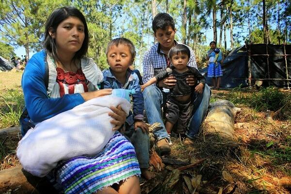 Drama social sin resolver: Familias son desplazadas por conflictos agrarios en Chiapas, México