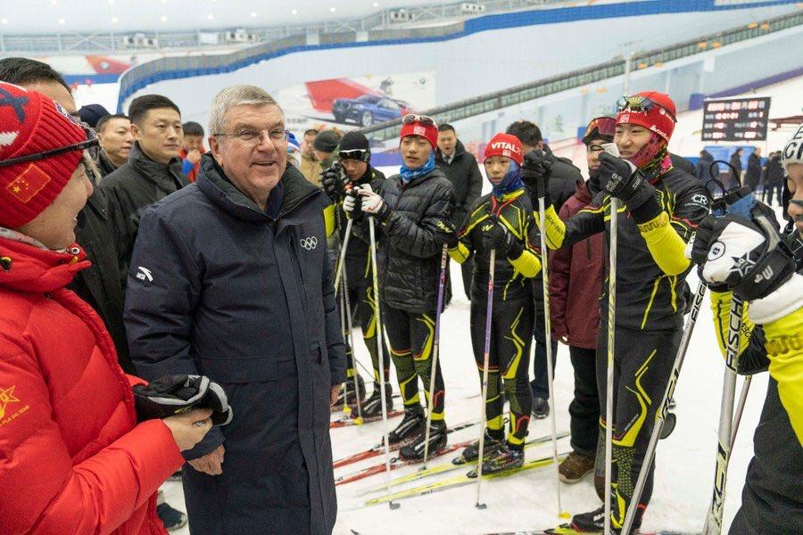 Comité Olímpico felicitó a China por la organización de los Juegos Invernales Beijing 2022