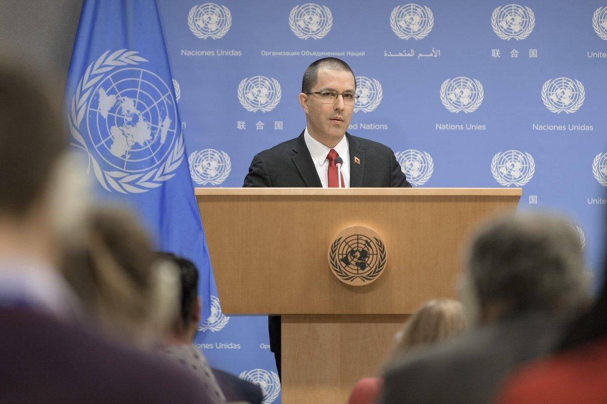 Venezuela denuncia en la ONU «devastadoras consecuencias» del bloqueo de EE. UU.