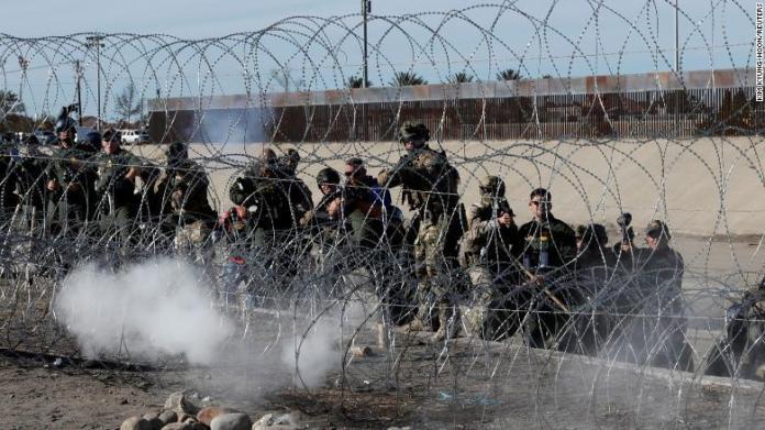 represión fronteriza