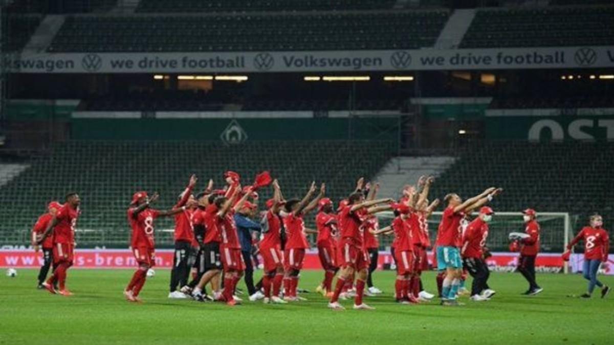 Bayern Múnich se corona campeón de la Bundesliga alemana 2020