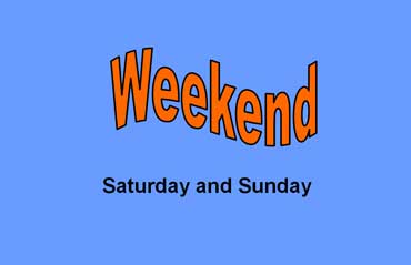 Image result for saturday sunday