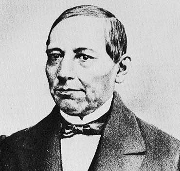Benito Juarez, President of Mexico