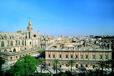 Burial Place for Christopher Columbus - Cathedral of Seville