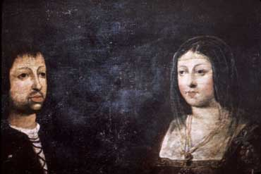 King Ferdinand and Queen Isabella of Spain