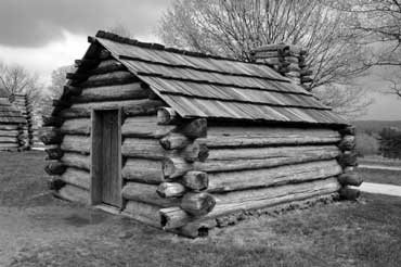 Sample of a Log Cabin