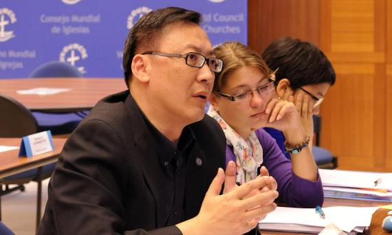 LWF Council member Philip Lok, Lutheran Church in Malaysia and Singapore. Photo: LWF/H. Putsman-Penet