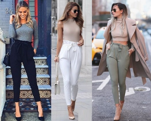 Tendencias Otono 2018 El Pantalon Paper Bag El Closet De Giuliana
