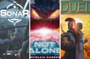 Capitán Sonar, 7 Wonders Duel y Not Alone, Primeras Impresiones by David