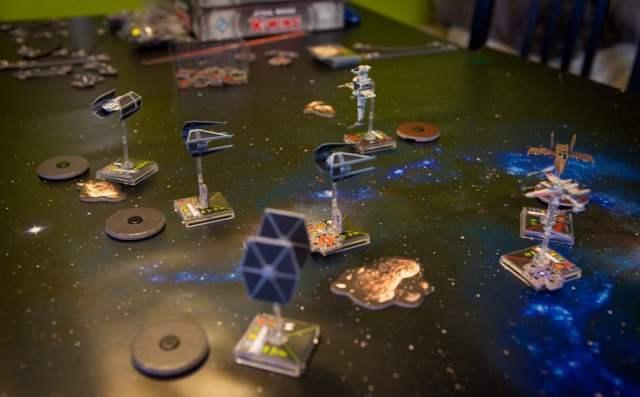 x-wing juego de mesa