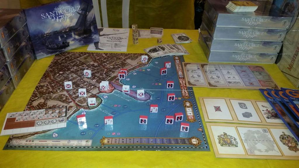 Santa Cruz 1797 juego de mesa