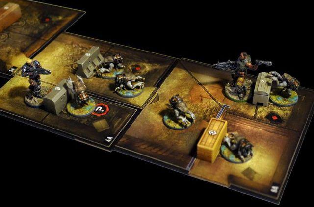 Gears of war juego de mesa