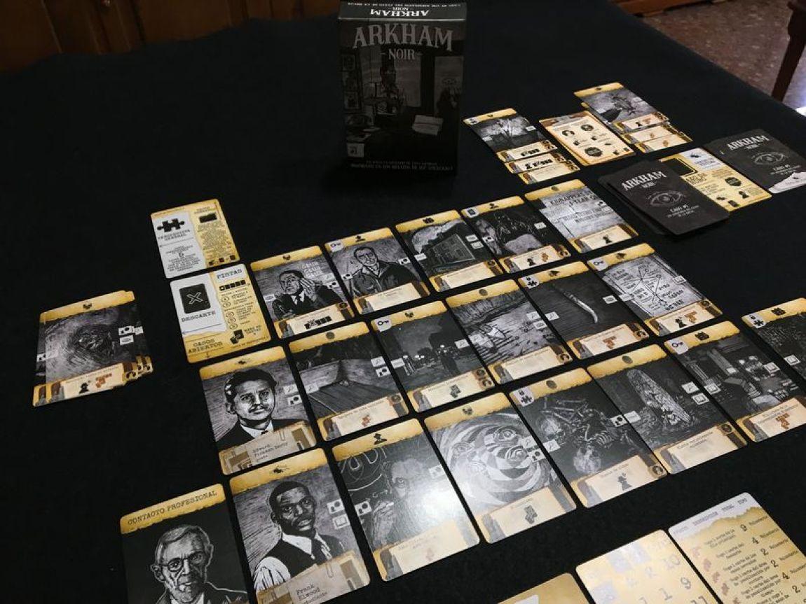 Arkham Noir juego de mesa