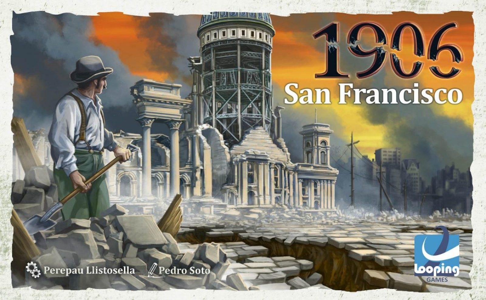 1906 san francisco juego de mesa