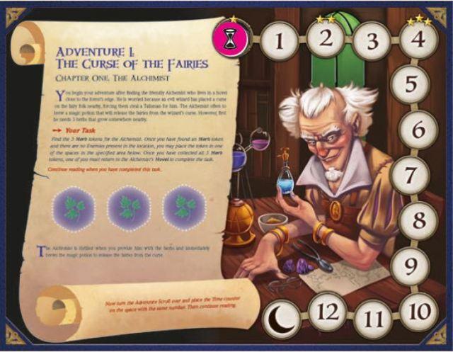 talisman legendary tales juego de mesa