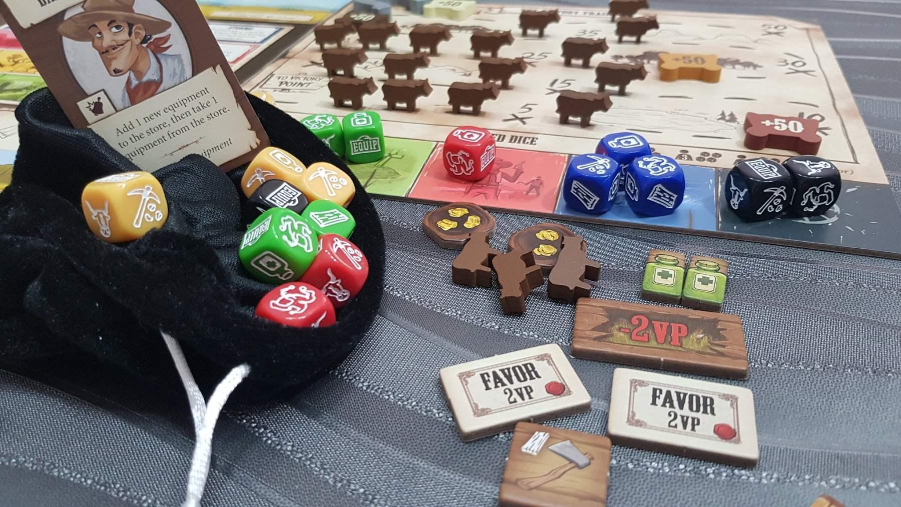 pioneers Days juego de mesa
