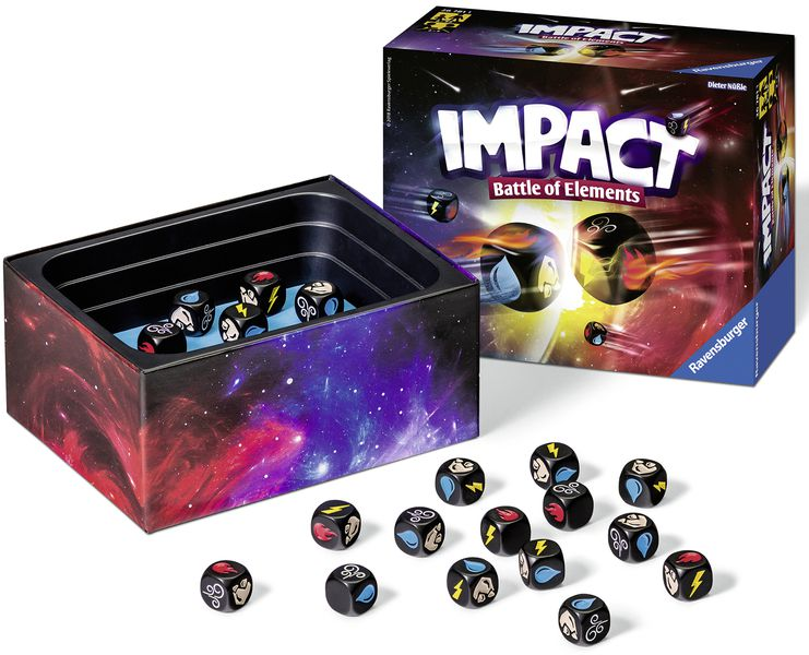 Impact Battle of Elements juego de mesa