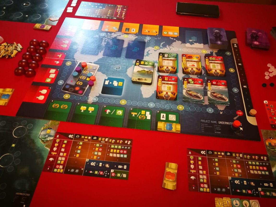 Underwater cities juegos de mesa