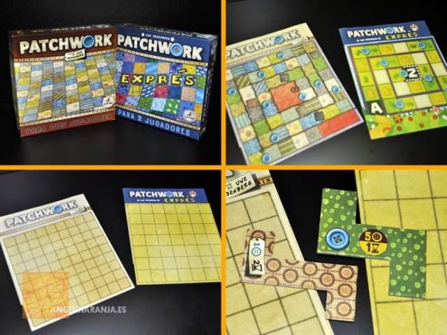 patchwork express juego de mesa