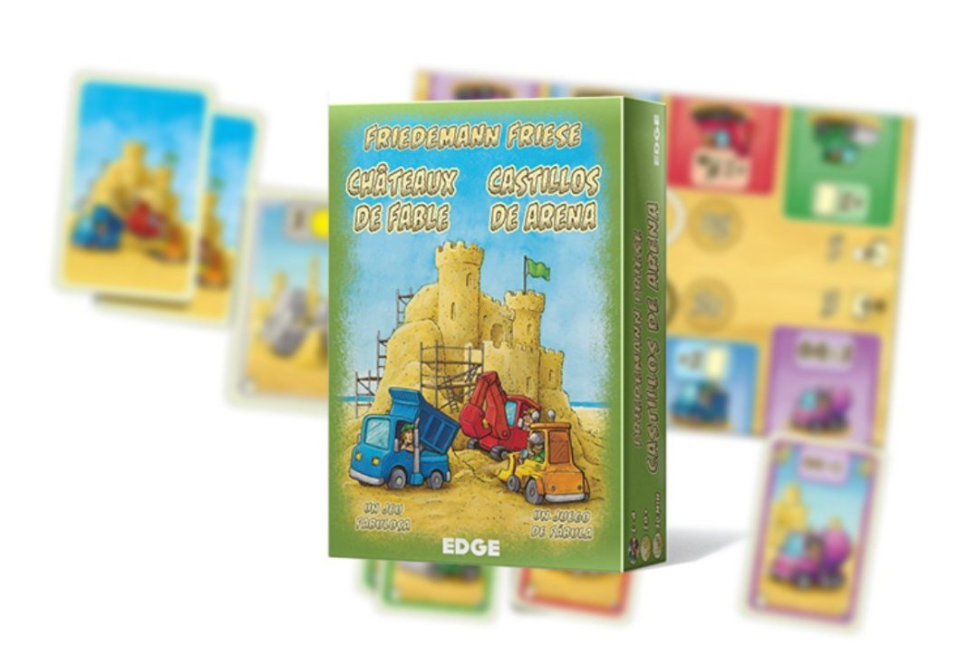 castillos de arena juego de mesa