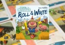Colonos del Imperio: Roll & Write juego de mesa