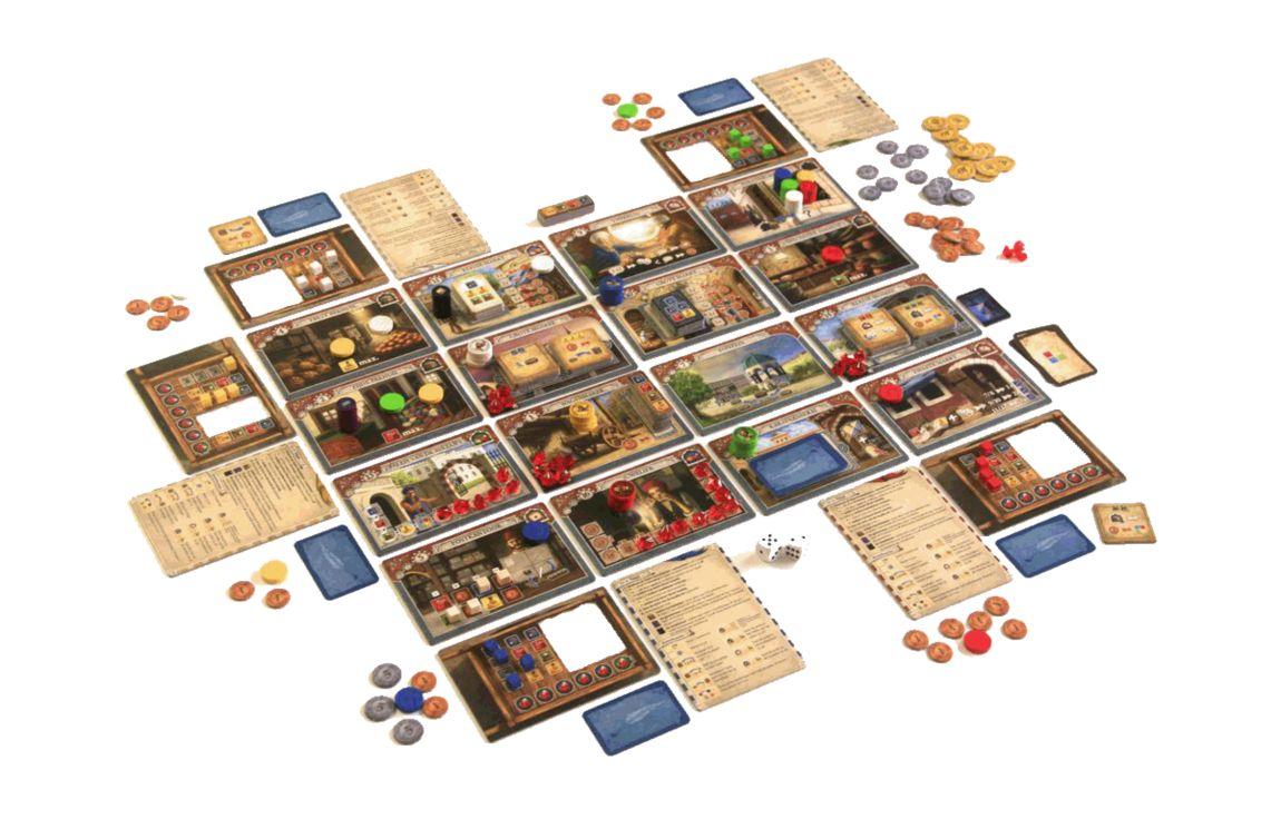 Istanbul big box juego de mesa