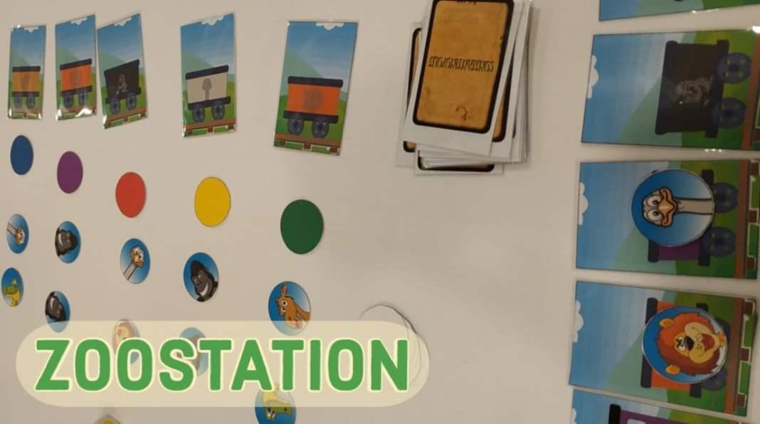 zoo station juego de mesa