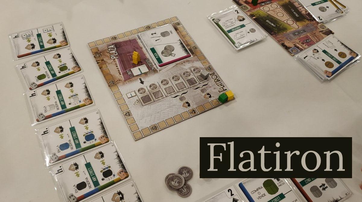 Flatiron juego de mesa