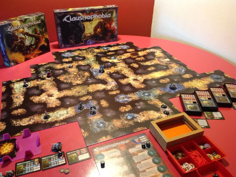 Claustrophobia juego de mesa