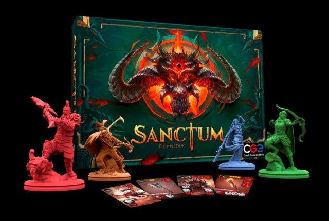 Sanctum juego de mesa