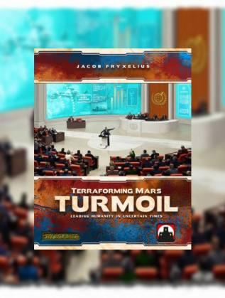 Terraforming Mars Turmoil juego de mesa