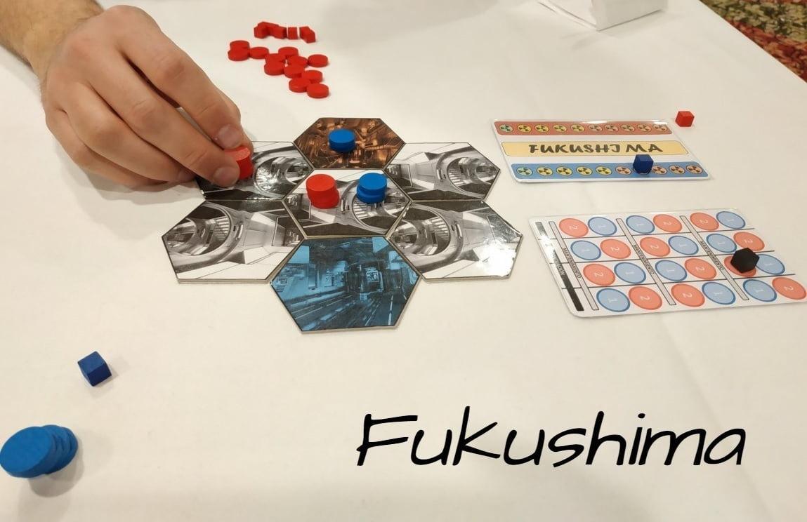 Fukushima juego de mesa
