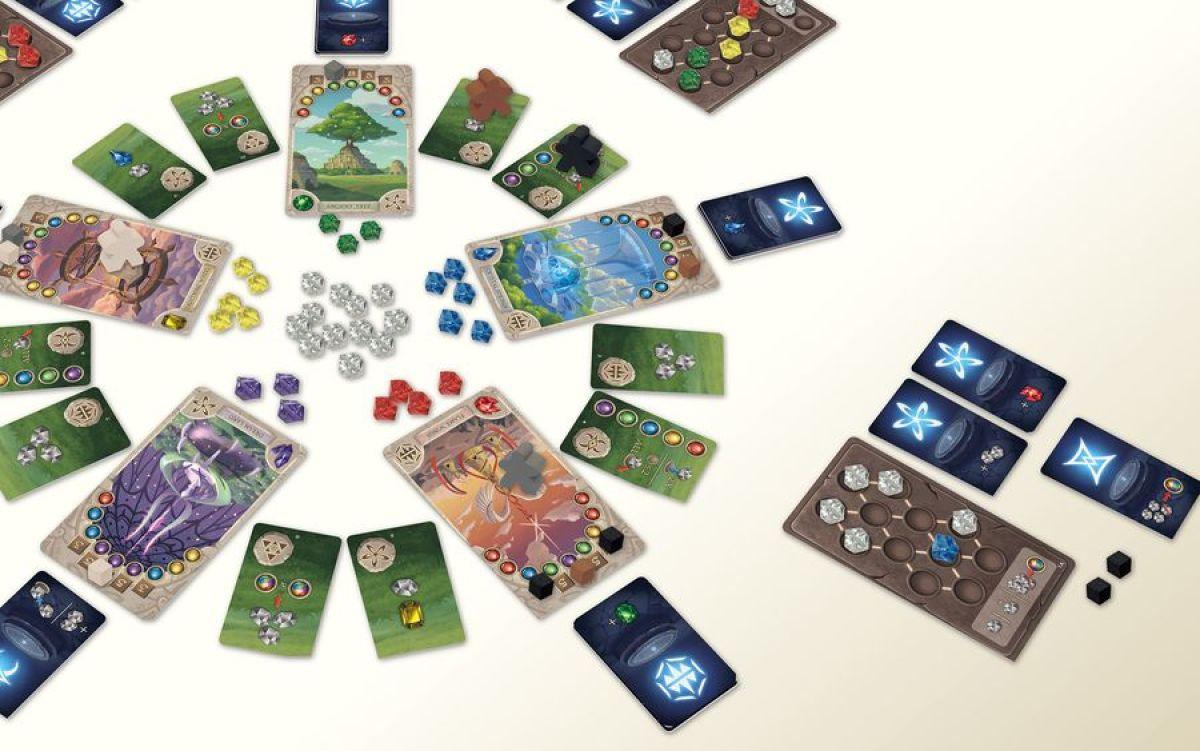 El Enigma de los Templos juego de mesa