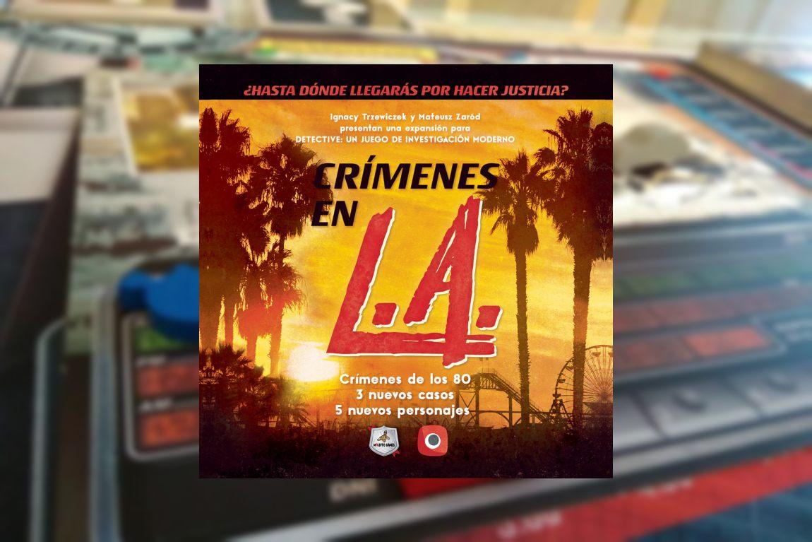 Crímenes en L.A. juego de mesa