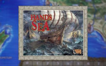 hands in the sea juego de mesa
