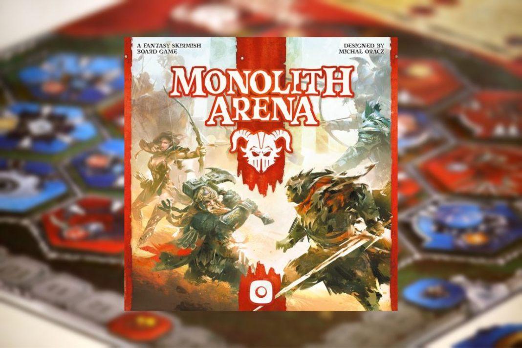 monolith arena juego de mesa