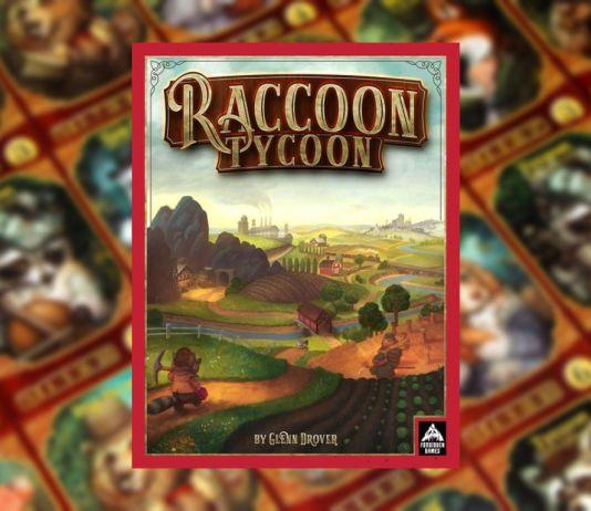 Raccoon Tycoon juego de mesa