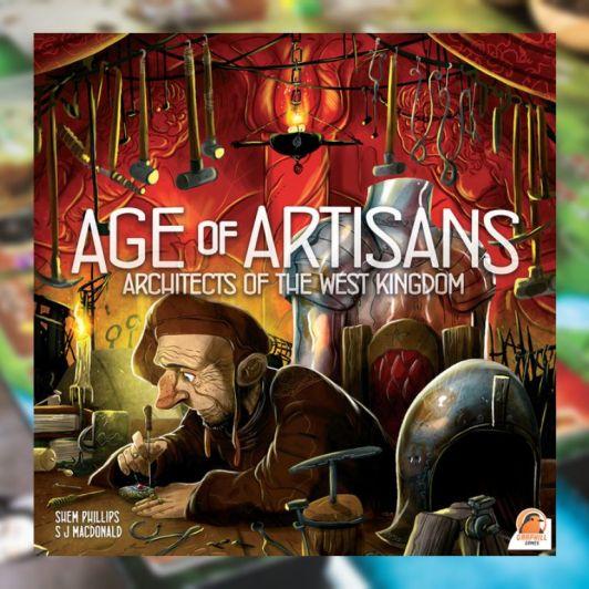 Age of Artisans juego de mesa