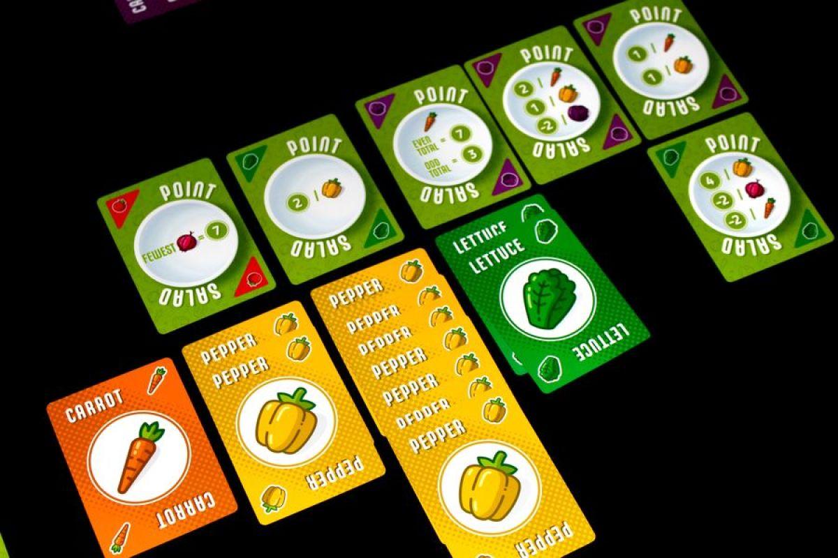 Point salad juego de mesa