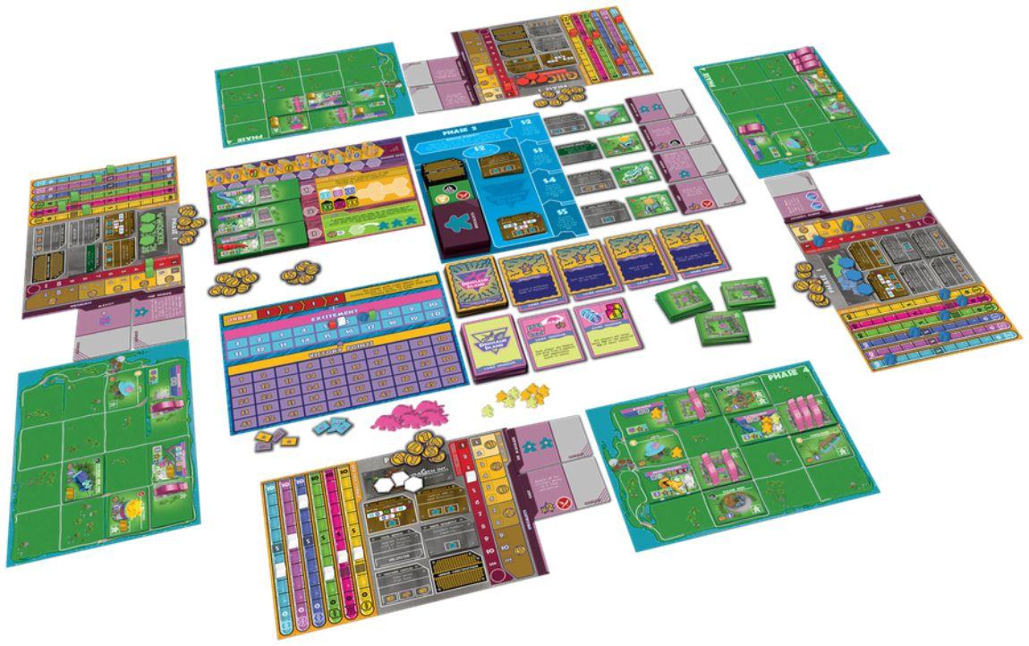Dinosaur Island juego de mesa