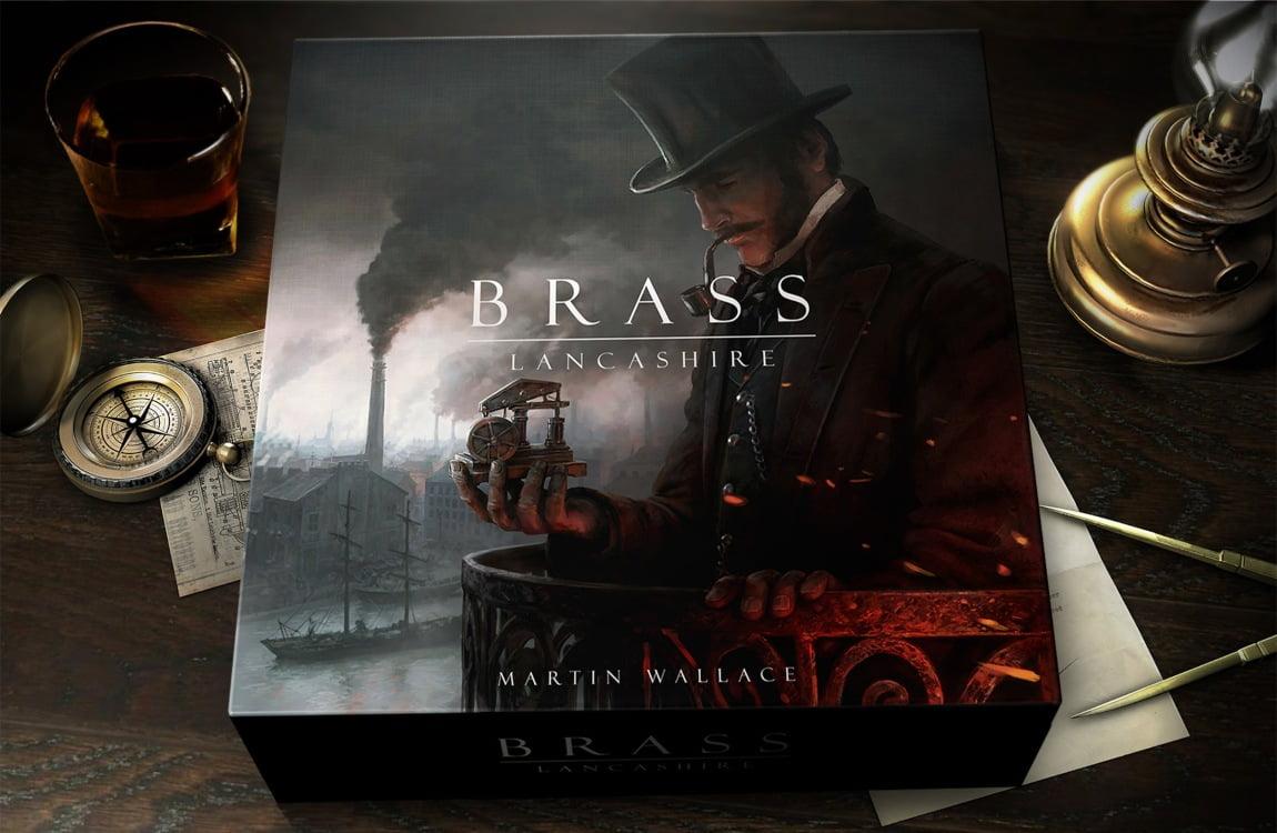 Brass Lancashire juego de mesa