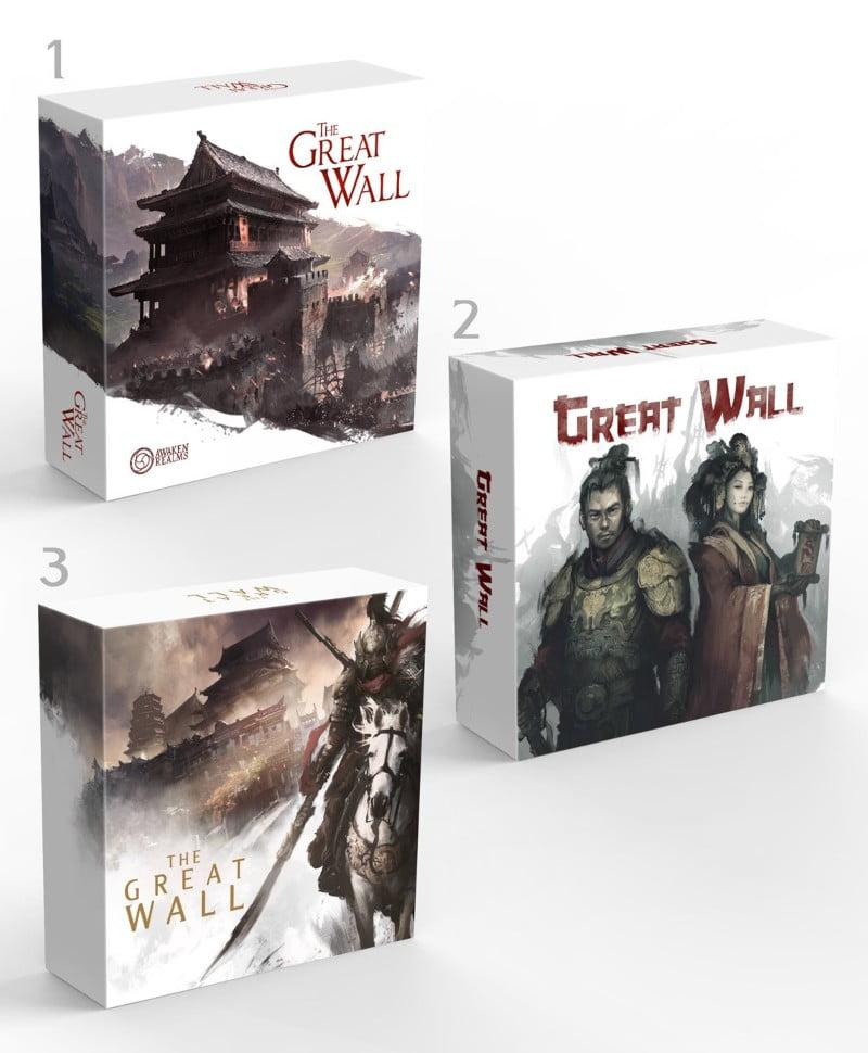 The Great wall juego de mesa