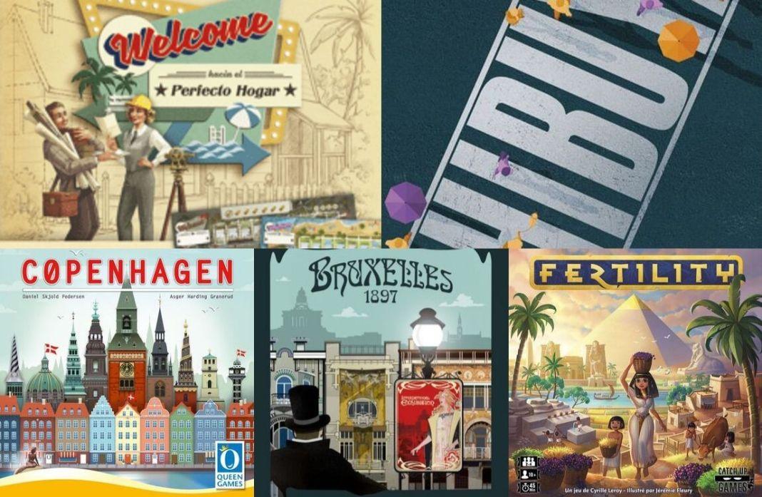 Novedades de octubre en español juegos de mesa