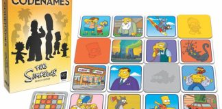 Código Secreto: Los Simpsons juego de mesa